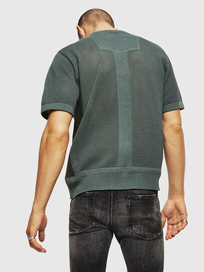 Diesel - K-LORE, Olive Green - Knitwear - Image 2