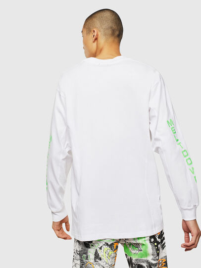 Diesel - T-GLYNIS-J1, White - T-Shirts - Image 3