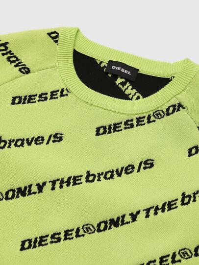 Diesel - KDAVIS, Green Fluo - Knitwear - Image 3