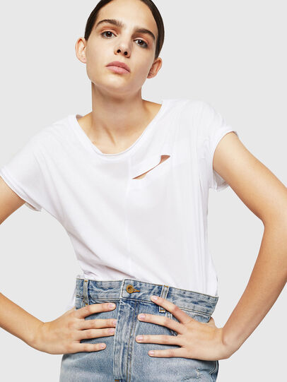 Diesel - T-DIMMY-A, White - Tops - Image 4