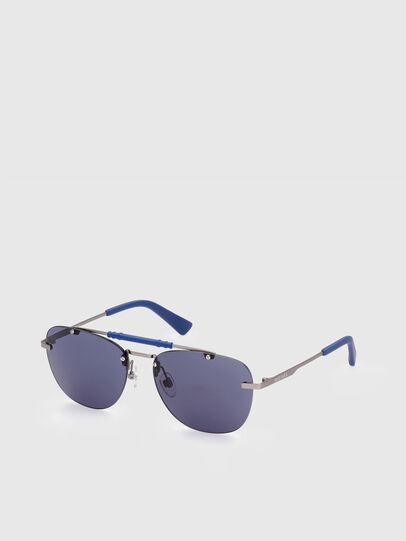 Diesel - DL0340, Blue - Sunglasses - Image 2