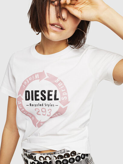 Diesel - T-SILY-C1,  - T-Shirts - Image 4