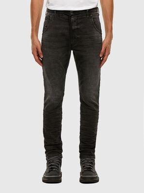 Krooley JoggJeans 009FZ, Black/Dark grey - Jeans