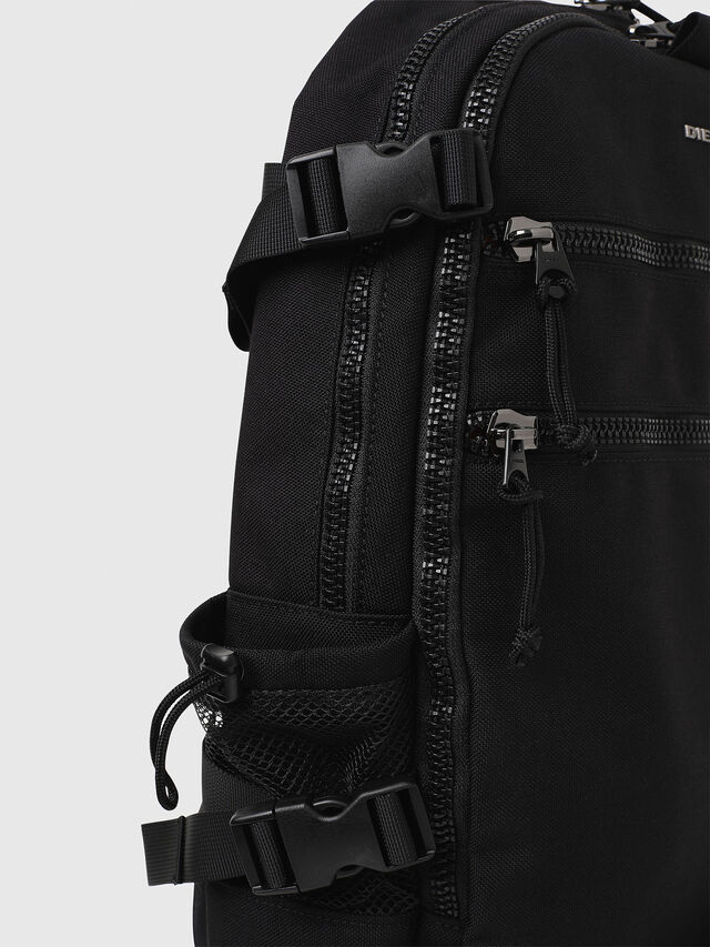 Diesel F- URBHANITY BACK, Black - Backpacks - Image 4