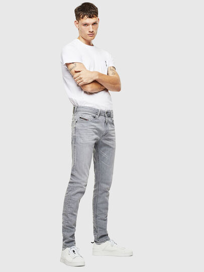 Diesel - Thommer 0890E, Light Grey - Jeans - Image 6