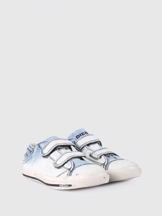 Diesel - SN LOW STRAP 11 DENI, Light Blue - Footwear - Image 2
