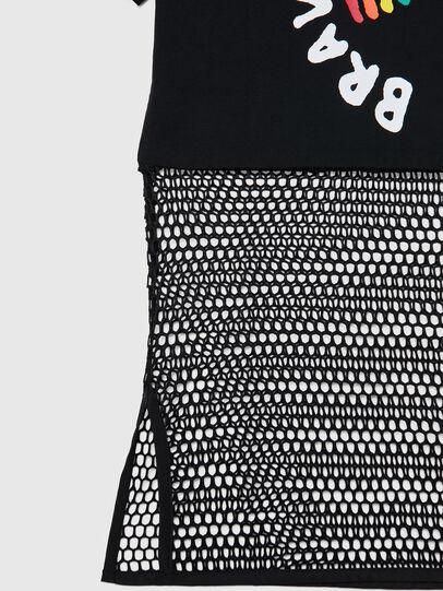 Diesel - BFOWT-BLOKY-P, Black - T-Shirts - Image 4