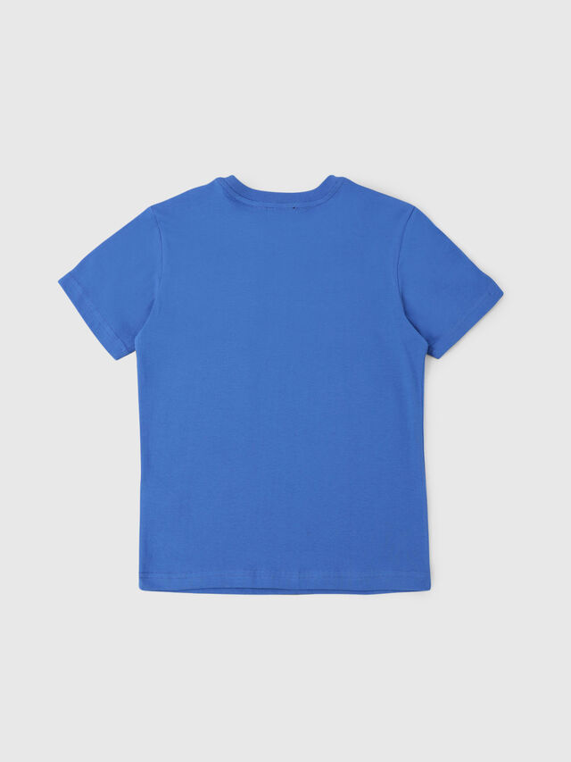 Diesel - TJUSTDIVISION, Cerulean - T-shirts and Tops - Image 2