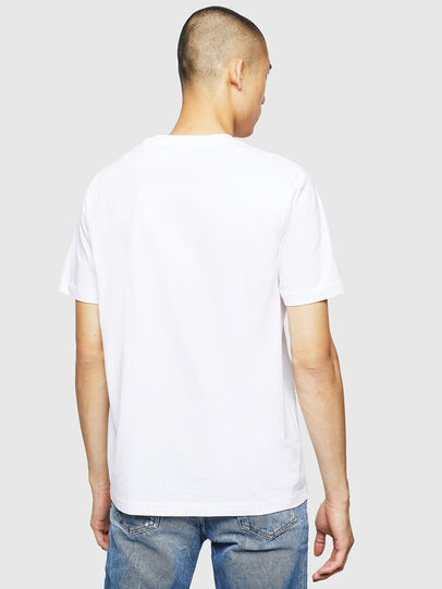 Diesel - T-JUST-B23, White - T-Shirts - Image 2