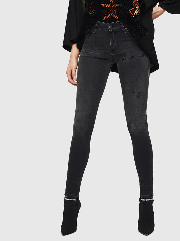 Slandy 069GI, Black/Dark grey - Jeans