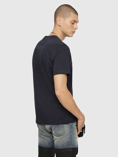 Diesel - T-JUST-DIVISION, Dark Blue - T-Shirts - Image 2