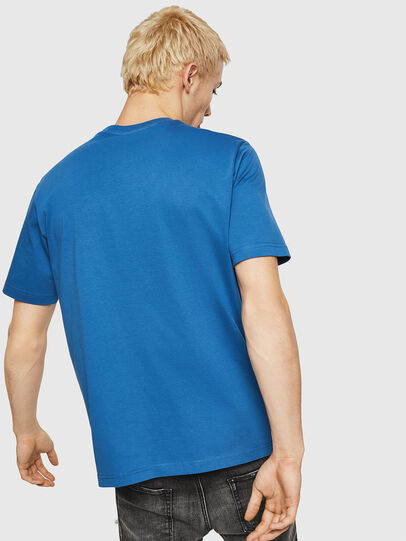 Diesel - T-JUST-DIVISION, Blue - T-Shirts - Image 2