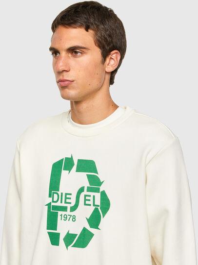 Diesel - S-GIRK-N81, White - Sweaters - Image 5