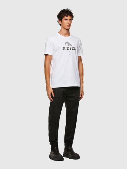 Diesel - T-DIEGOS-N30, White - T-Shirts - Image 4