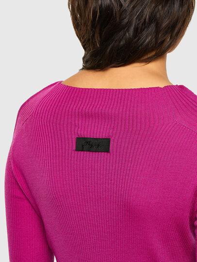 Diesel - M-JULIA, Hot pink - Knitwear - Image 3