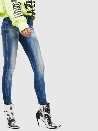 Diesel - Slandy 0095C, Medium blue - Jeans - Image 4