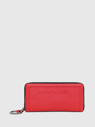 Diesel - GRANATO LC, Fire Red - Zip-Round Wallets - Image 1