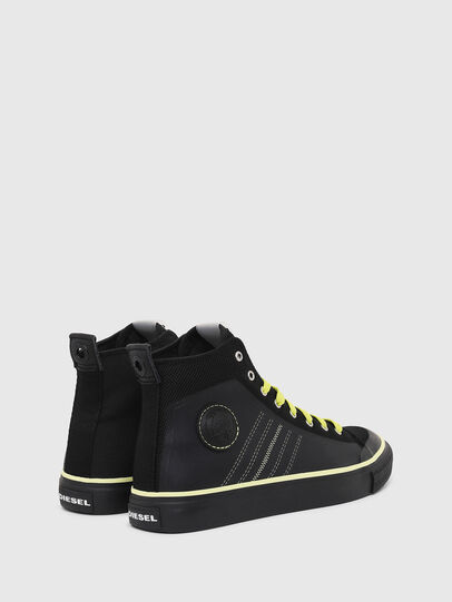 Diesel - S-ASTICO MC H, Black/Yellow - Sneakers - Image 3