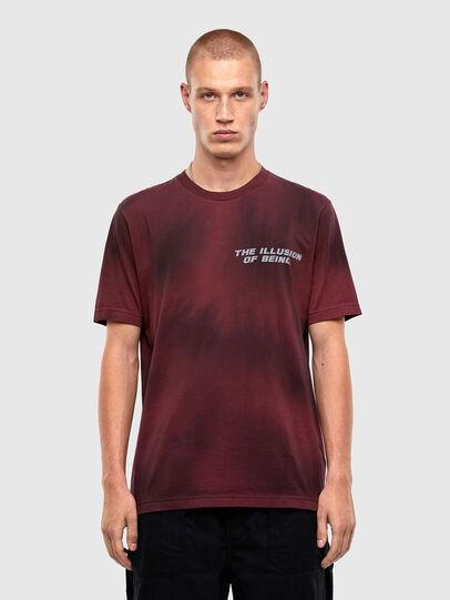 Diesel - T-JUST-N47, Brown - T-Shirts - Image 1