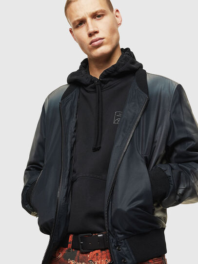 Diesel - J-FOREST, Black - Jackets - Image 3