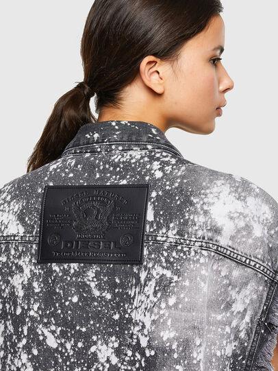 Diesel - D-RAFFO-SXY, Black - Denim Jackets - Image 6