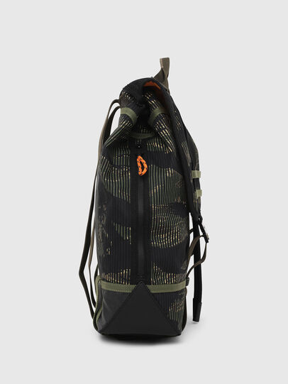 Diesel - VOLPAGO BACK, Green/Black - Backpacks - Image 3