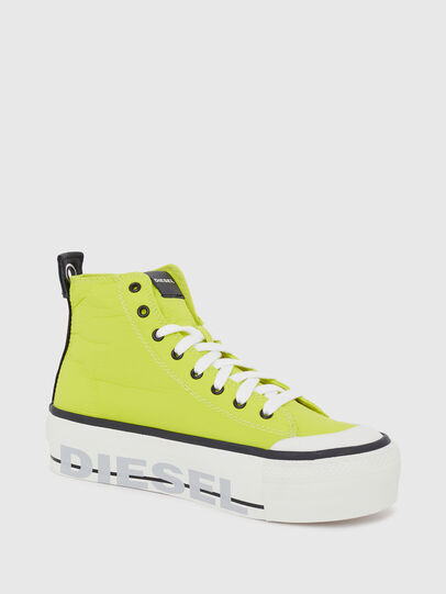 Diesel - S-ASTICO MC WEDGE, Yellow - Sneakers - Image 5
