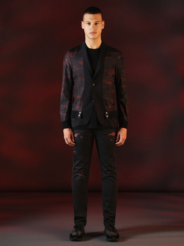 Diesel - DVL-JACKET-SPECIAL COLLECTION, Black - Jackets - Image 6