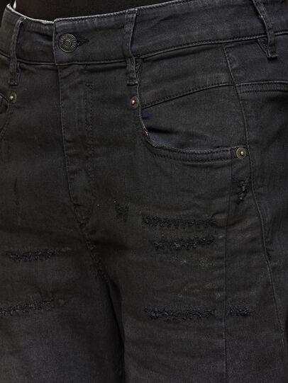 Diesel - Fayza JoggJeans 069QL, Black/Dark grey - Jeans - Image 3