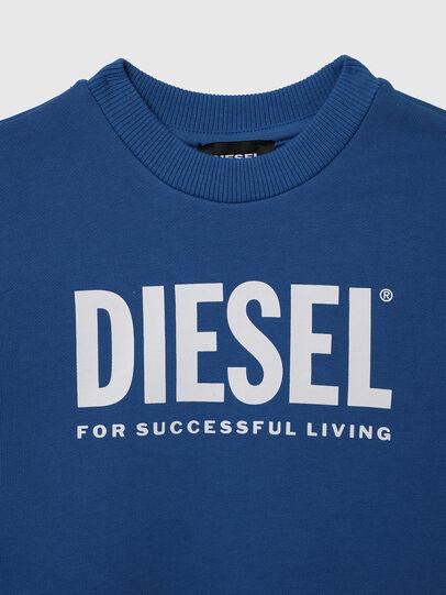 Diesel - SCREWDIVISION-LOGOB-, Blue - Sweaters - Image 3