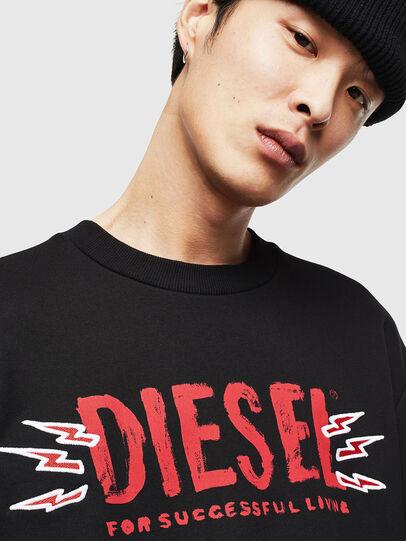 Diesel - CL-SNOR-LITMA, Black - Sweaters - Image 3