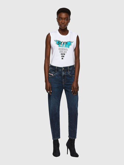 Diesel - Fayza JoggJeans® 069WZ, Dark Blue - Jeans - Image 5