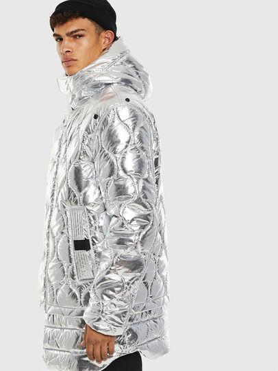 Diesel - W-CRAWFORD, Silver - Winter Jackets - Image 6