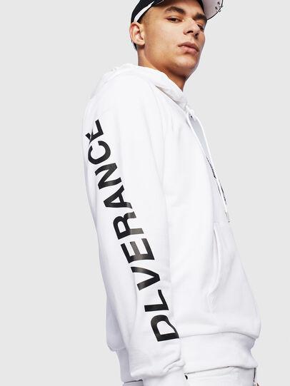 Diesel - S-GIRK-HOOD-S4, White - Sweaters - Image 7