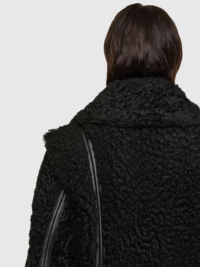 Diesel - L-EYRE, Black - Leather jackets - Image 4