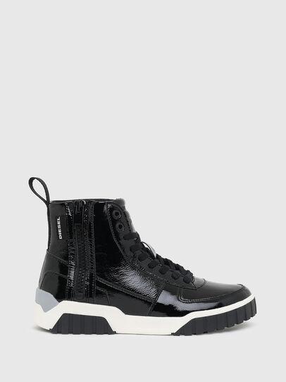 Diesel - S-RUA MC W, Black - Sneakers - Image 1