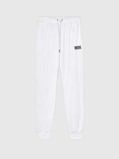 Diesel - P-TARY-LOGO, White - Pants - Image 1