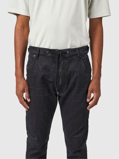 Diesel - Krooley JoggJeans® 069WB, Black/Dark grey - Jeans - Image 3