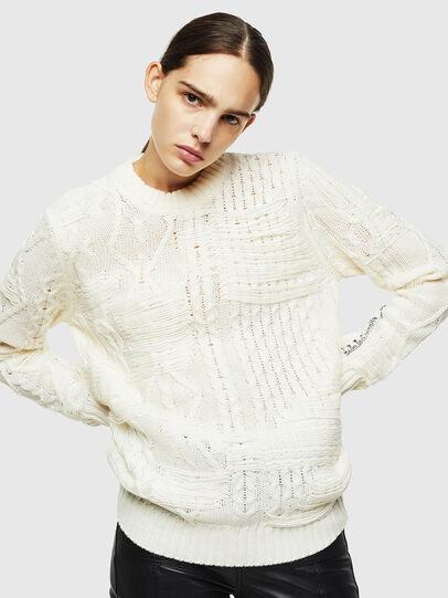 Diesel - K-BRIGLY, White - Knitwear - Image 2