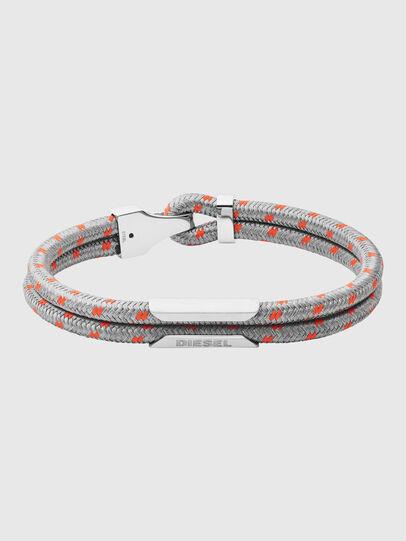 Diesel - DX1249, Grey - Bracelets - Image 1
