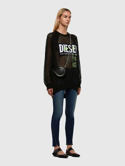Diesel - D-Jevel 009HL, Dark Blue - Jeans - Image 7