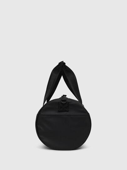 Diesel - F-BOLD DUFFLE, Black/White - Travel Bags - Image 3