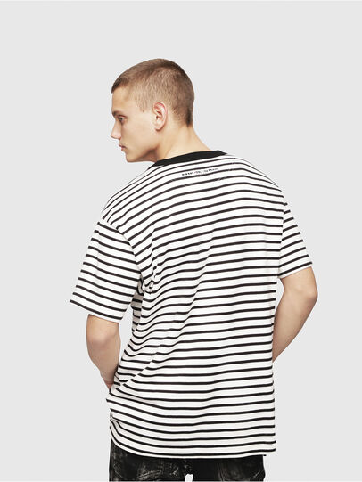 Diesel - T-WALLACE-STRIPE,  - T-Shirts - Image 2