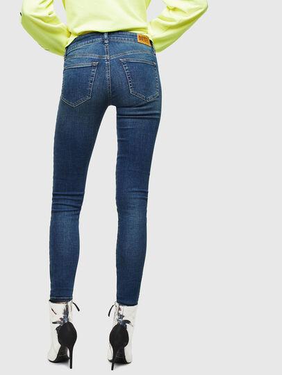 Diesel - Slandy 069KW, Dark Blue - Jeans - Image 2