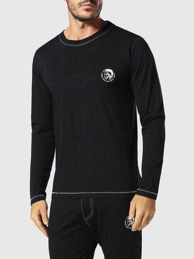 Diesel - UMLT-JUSTIN, Black - T-Shirts - Image 1