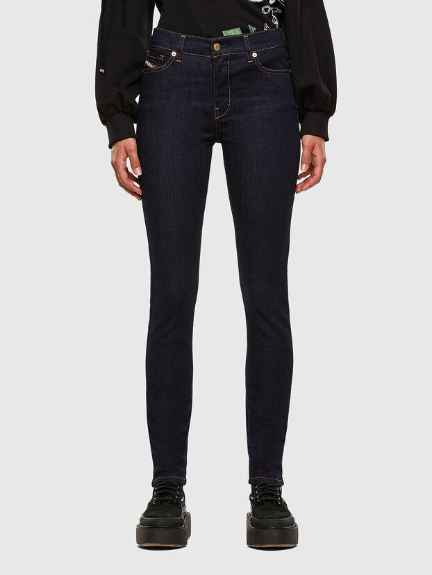 D-Roisin 0098L, Dark Blue - Jeans