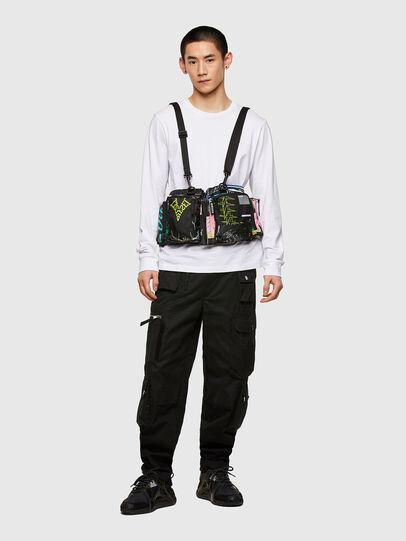 Diesel - WARMY, Black - Crossbody Bags - Image 6