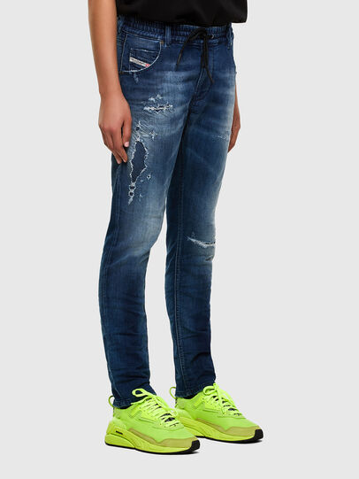 Diesel - KRAILEY JoggJeans® 069PL, Dark Blue - Jeans - Image 6
