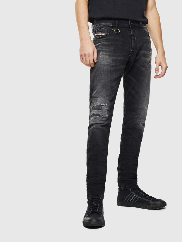 Tepphar 069DW, Black/Dark grey - Jeans