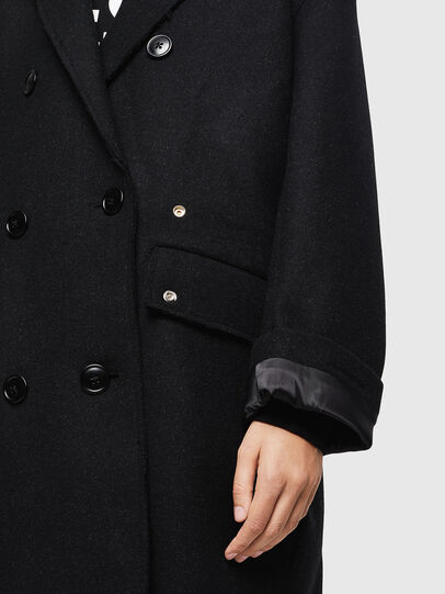Diesel - W-MALIN, Black - Winter Jackets - Image 6